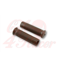 Handlebar grips Metalflake  brown