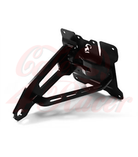 IBEX Bracket for license plate, side mount for HD Softail, -07