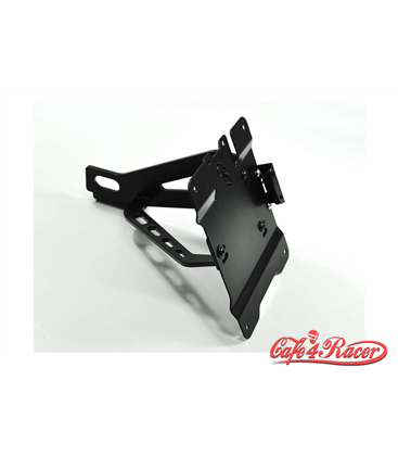 IBEX Bracket for license plate, side mount for HD Sportster 05-