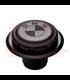 BMW K75/100/1100 Fuel Tank Gas Cap Black with White Logo
