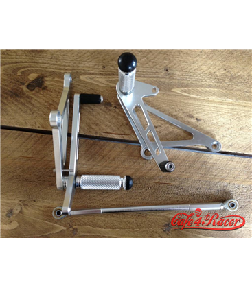 Universal Alloy Rearset Polished Type 1
