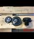 BMW R45 - R100  series  Fuel Tank Gas Cap Black with White Logo