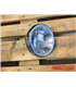 SHIN YO 7 inch Hlavný svetlomet BRITISH STYLE, chrómové