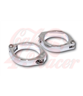 HIGHSIDER CNC Alu front fork clamps  35-54 mm chrome