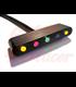Telltale meter DAYTONA MICRO, 5 LED indicators