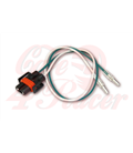 Connector for 12V H8+H11 bulb, with 350 mm cable.