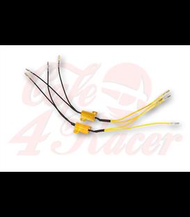 SHIN YO power resistor 25W-7,5 Ohm s káblom,  pár