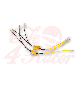 SHIN YO power resistor 25W-8,2 Ohm with cable, pair