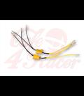SHIN YO power resistor 25W-8,2 Ohm s káblom,  pár