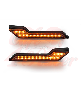 SW-MOTECH Barkbusters LED indicator lights, amber, 2ks