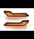SW-MOTECH Barkbusters LED indicator lights, amber, set of 2
