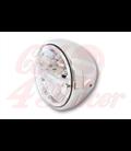 HIGHSIDER 7 inch LED headlight RENO TYPE 4, chrómové