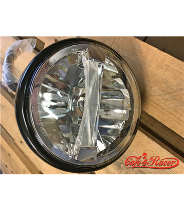 HIGHSIDER 7 inch LED headlight BRITISH-STYLE TYPE 4 čierne