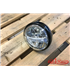 HIGHSIDER 7 inch LED headlight BRITISH-STYLE TYPE 4 black