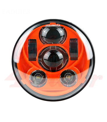 "5-3/4 Harley Headlight 5.75"" Led Headlamps"