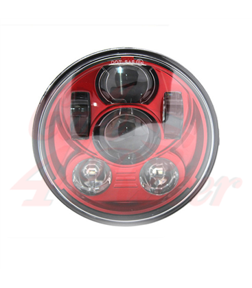 "5-3/4 Harley Headlight 5.75"" Led Headlamps insert"