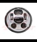"""5-3/4 Harley Headlight 5.75"""" Led Headlamps insert white"""