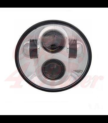 "5-3/4 Harley Headlight 5.75"" Led Headlamps insert chrome"