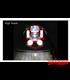 "5-3/4 Harley Headlight 5.75"" Led Headlamps insert  red"