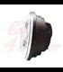 """5-3/4 5.75""""  Harley Hlavné LED svetlo vložka chrómová RGB krúžok"""