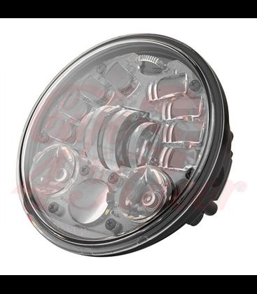 "5-3/4 Harley Headlight 5.75"" Led Headlamps insert black LED turns"