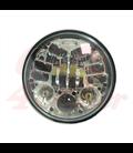 "5-3/4 Harley Headlight 5.75"" Led Headlamps insert chrome LED turns"