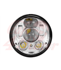 "5-3/4 Harley Headlight 5.75"" Led Headlamps insert chrome LED parking"