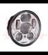 "5-3/4 Harley Headlight 5.75"" Led Headlamps insert chrome LED parking"