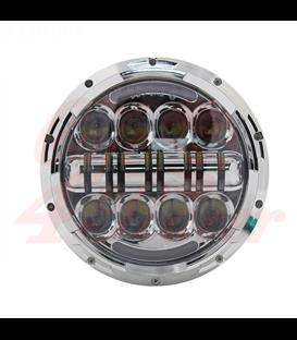"""7"""" / 17,8cm Harley Headlight Led Headlamps insert chrome"""