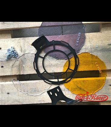Retro Grill chránič predného svetla  s farebnými krytmi UP2