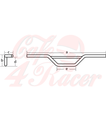 Tracker riaditká 22MM (7/8 inch) čierne