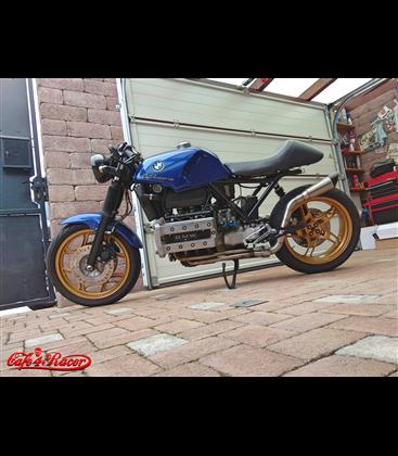 4to1 výfukové koleno  BMW K100 SCRAMBLER