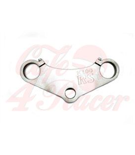 Top triple tree clamp upper / fork yoke  for  K100 RS RT LT (82-90) LOGO K100RS