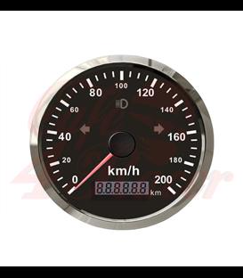 85 mm rýchlomer GPS mil, indikátor smeroviek , diaľkové svetlo