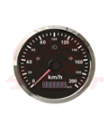 85mm GPS Speedometer mil , Left, Right and High Beam