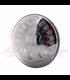 "7"" / 17,8cm Harley Headlight Led Headlamps insert black Adaptive LED corner function"