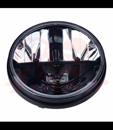 "7"" / 17,8cm Harley Headlight Led Headlamps insert black"