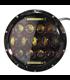 """7"""" / 17,8cm Harley Hlavné LED svetlo  vložka čierna"""