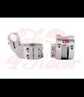 LSL Offset-High handlebar clamps, 50mm