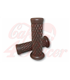 TPR Soft grips for 1 inch handlebars dark brown
