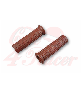 TPR Soft grips for 1 inch handlebars brown