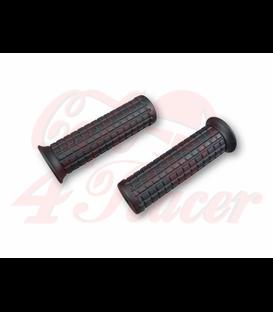 TPR Soft grips for 1 inch handlebars black