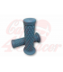 TPR Soft grips for 1 inch handlebars blue