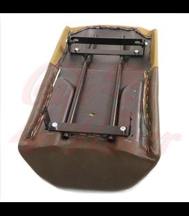 Scrambler Seat Brown Leather, Canvas BMW K100/K75
