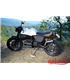 BMW Scrambler Seat Brown Leather, Canvas