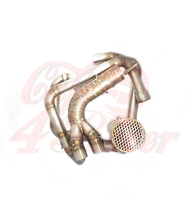 BMW K100 Exhaust   CR III  header pipes + muffler