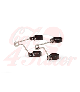 LSL Headlight bracket stainless steel without indicator support