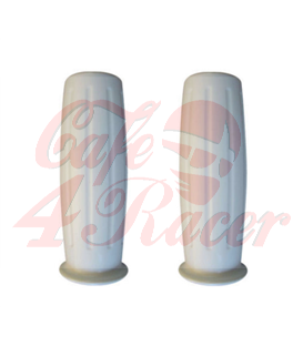 Handle bar grips white AMAL CR2