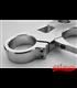 Top triple tree clamp upper / fork yoke  for BMW K100 RS RT LT (91-92)  /  K1100 (92-99)  speedometer hole 62mm