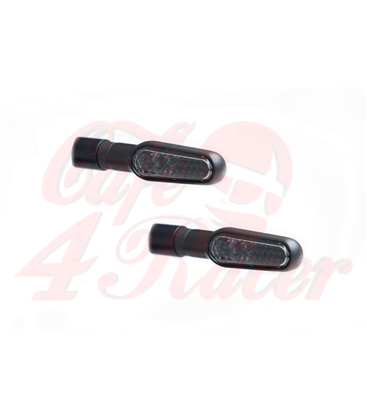 LSL D-Light LED-indicator, black, pair